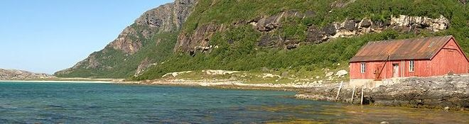 Off the Beaten Trail Mjeldevika beach area in Norway