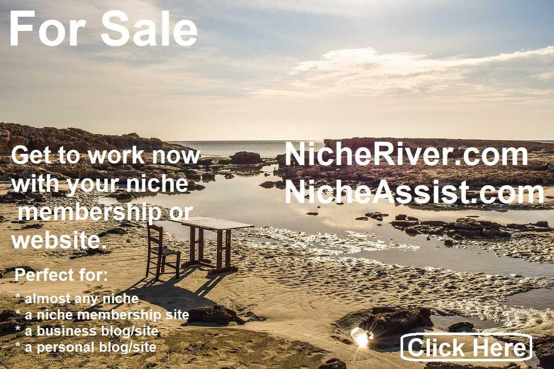 nicheriver.com for sale